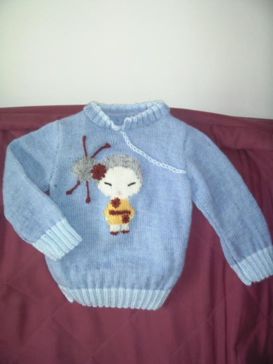 pull fillette taille : 2ans