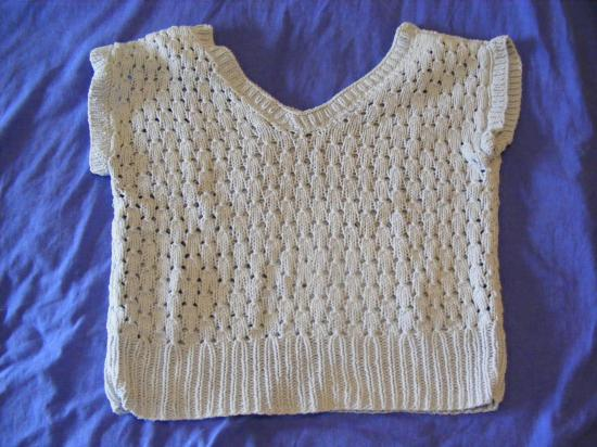 pull manche courtes